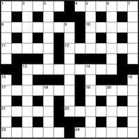 April 2018 TS Crossword