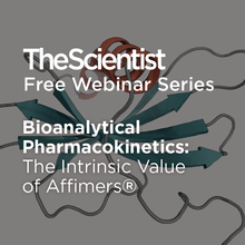 Bioanalytical Pharmacokinetics: The Intrinsic Value of Affimers®