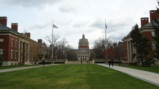 the University of Rochester campus
