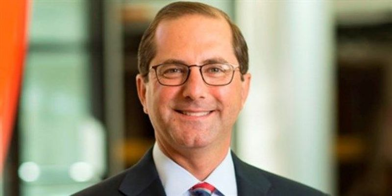 Trump Nominates Alex Azar as Health and Human Services Secretary