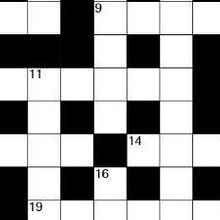 November 2017 TS Crossword