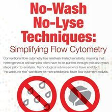 No-Wash/No-Lyse Techniques: Simplifying Flow Cytometry