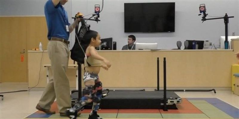 Robotic Orthotics Aid Gait in Kids with Cerebral Palsy