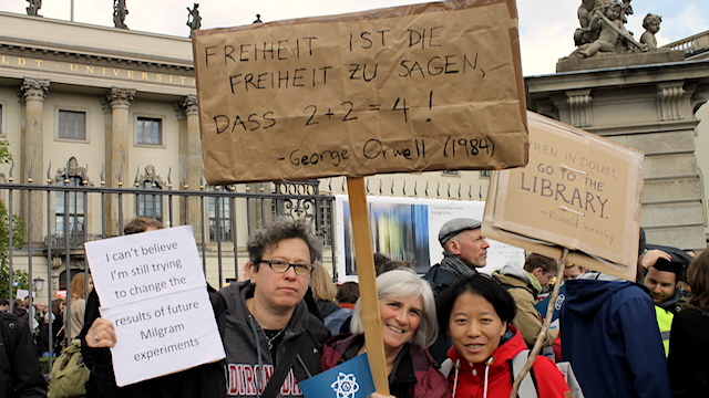 Science March Berlin