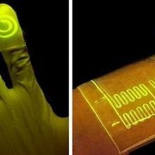 Image of the Day: Glowing Gloves