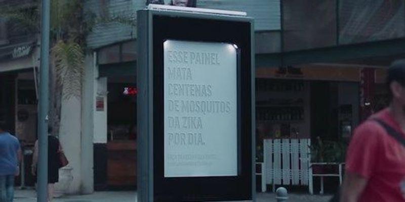 Billboards Attract Mosquitoes