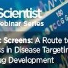 Genetic Screens: A Route to Rapid Progress in Disease Targeting and Drug Development