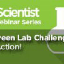 The Green Lab Challenge: Take Action!