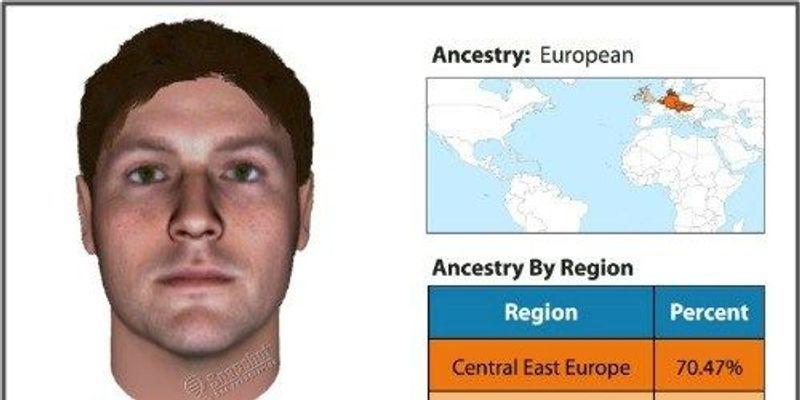 Police Sketches Via DNA