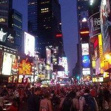 Neuroimaging Graces Times Square