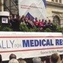 Biomedical Researchers Rally for Funds
