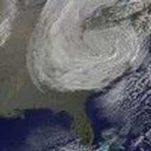 Hurricane Sandy Blows Through
