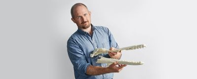 Nick Pyenson Reconstructs Bygone Whale Populations Using Fossils