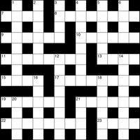 July 2018 TS Crossword