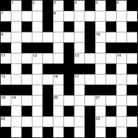 August 2018 Crossword