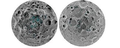 Definitive Evidence for Water Ice on the Moon: Study