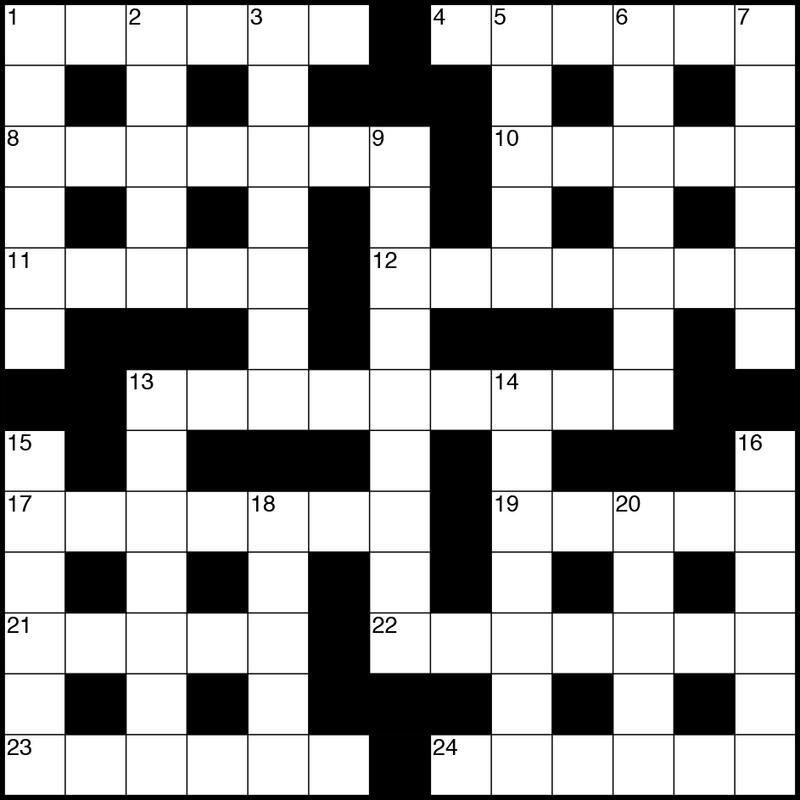 september 2018 crossword