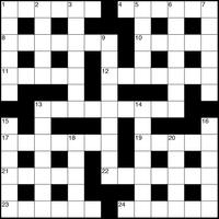 September 2018 Crossword
