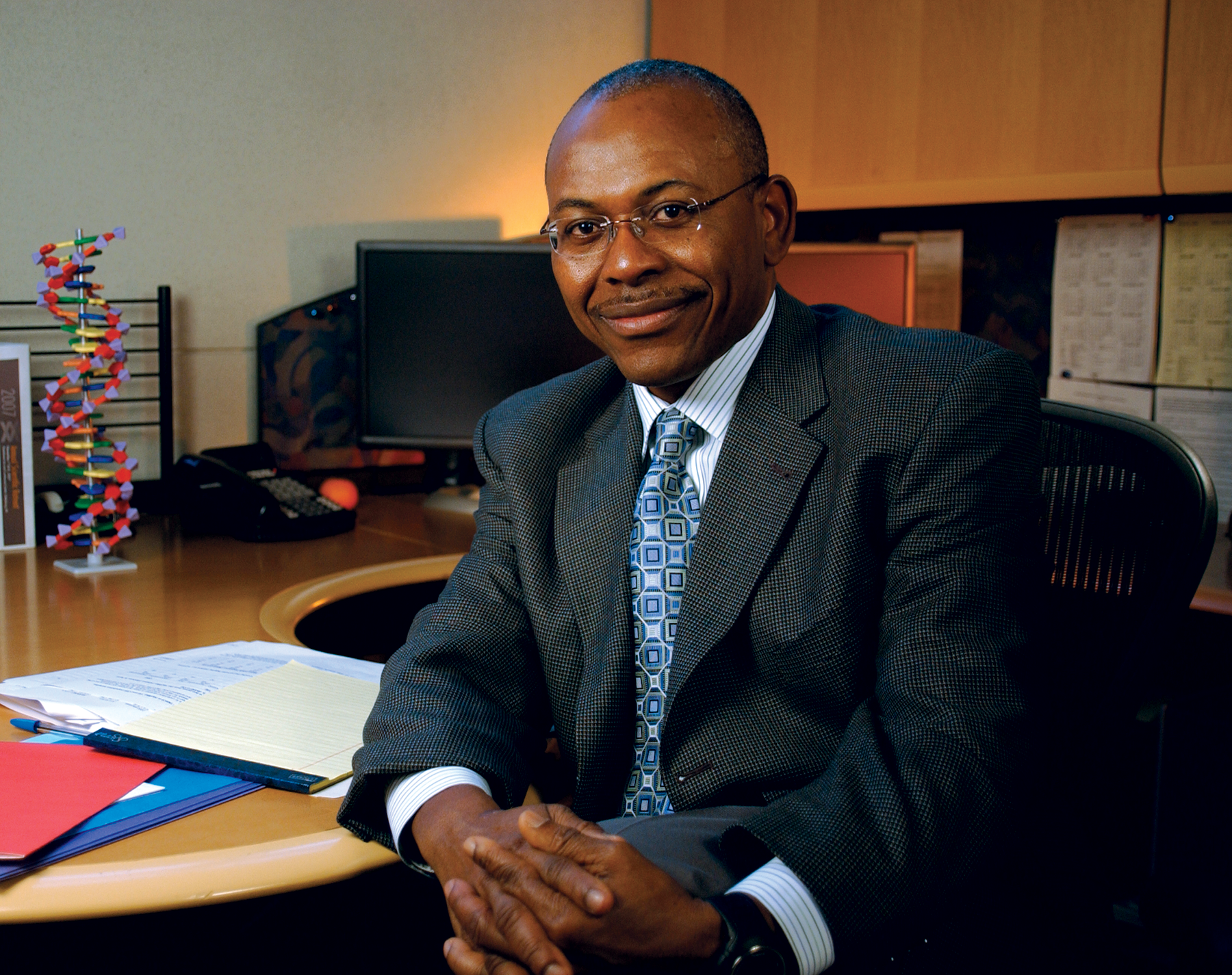 Genome Collector: A Profile of Charles Rotimi   The
