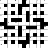 October 2018 Crossword