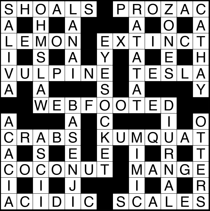 October 2018 Crossword Puzzle Answers | The Scientist ...