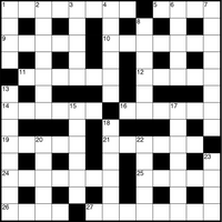 November 2018 Crossword