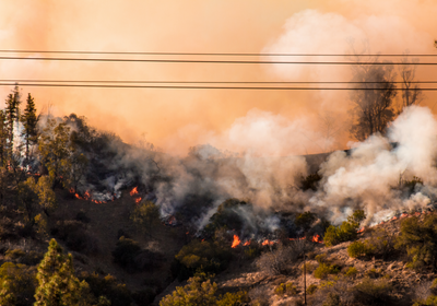 College Campuses Close as Wildfires Ravage California
