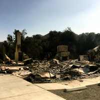 Research Building Burns Down in Woolsey Fire