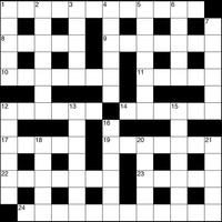 January 2019 Crossword