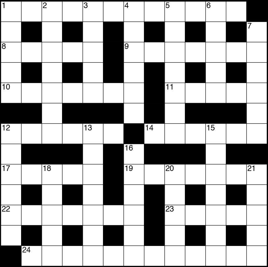 January 2019 Crossword   The Scientist Magazine®