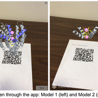 BiochemAR: an augmented reality app for easy visualization of virtual 3D molecular models