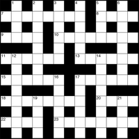 March 2019 Crossword