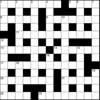 April 2019 Crossword