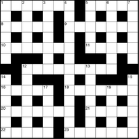 May 2019 Crossword