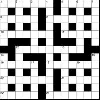 May 2019 Crossword