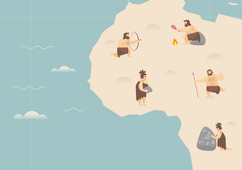 Infographic: History of Ancient Hominin Interbreeding