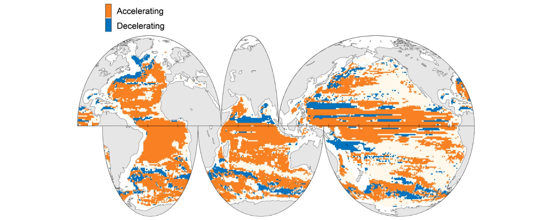 Global Ocean Circulation Is Speeding Up
