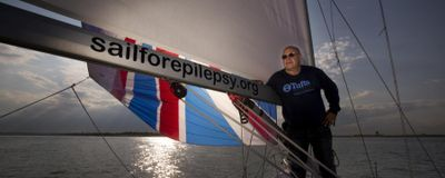 Neuroscientist Phil Haydon Sets Sail to Talk About Epilepsy