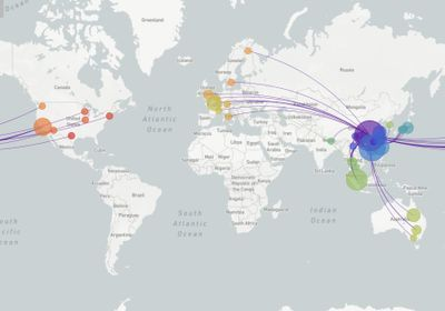 Coronavirus's Genetics Reveal Its Global Travels