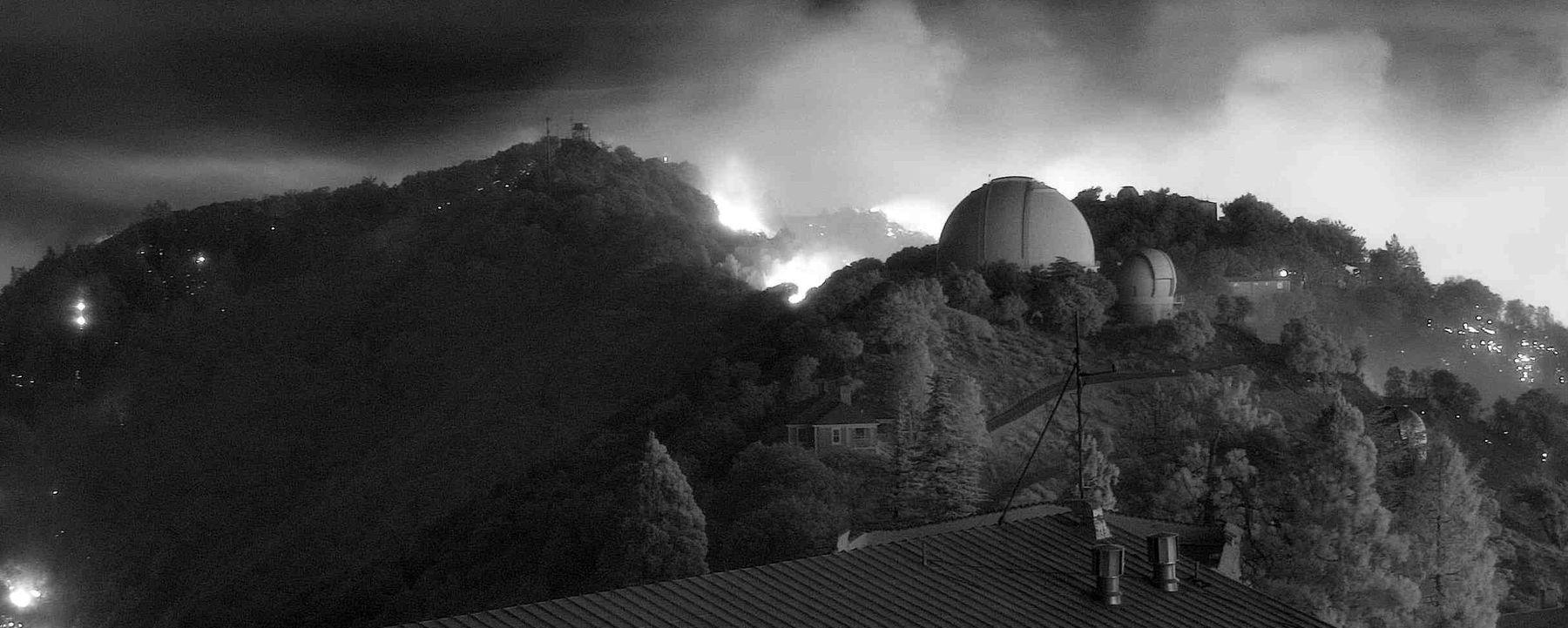 California Wildfires Threaten UC Campus, Telescopes