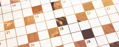 September 2020 Interactive Crossword Puzzle
