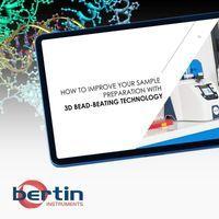 3D Bead-Beating Technology Improves Homogenization