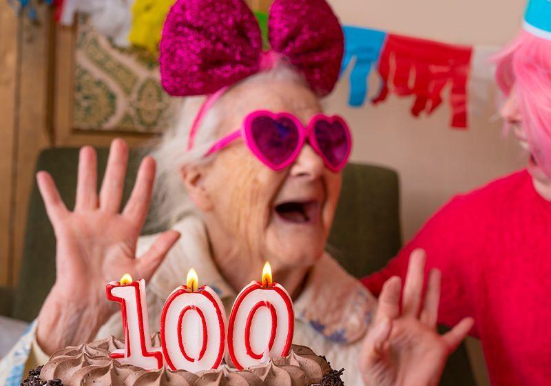 Gut Bugs May Help Centenarians Reach Their 100th Birthdays